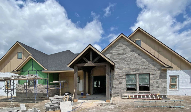 New custom homes in Greenville, Rockwall, and McKinney, Texas.